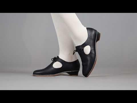 PRE-ORDER Mary Women's Renaissance Shoes (Black)