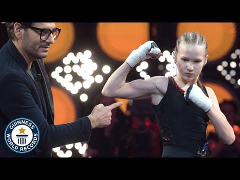 Female Punching World Record