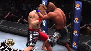UFC Undisputed 3 Gameplay: Alistair Overeem vs. Brock Lesnar (Cpu vs. Cpu)
