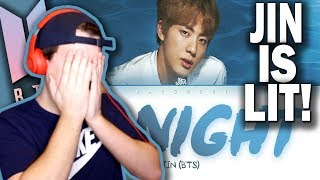 BTS Jin   Tonight (이 밤) REACTION!!