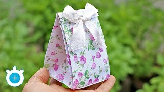 How To Make A Paper Gift Bag | LampZoom