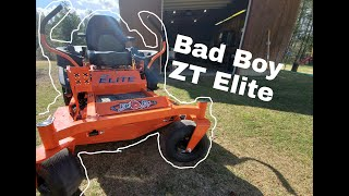 Bad Boy Mower - ZT Elite