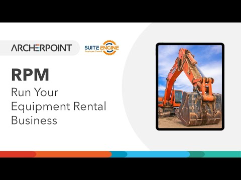 , title : 'Rental Process Management (RPM) Everything to Run Your Equipment Rental Business
