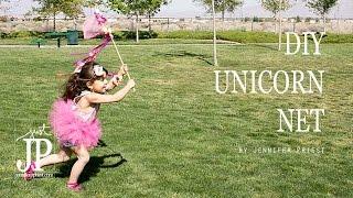 DIY Unicorn Catcher - Unicorn Birthday Party