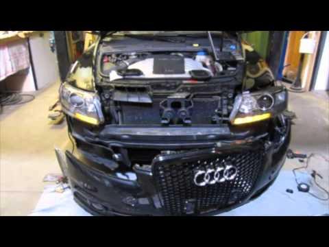 Audi A6 4F C6 Dynamischer Wischender Blinker: verbaut, erste Versuche