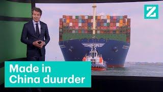 Consument gaat betalen voor tekort zeecontainers • Z zoekt uit