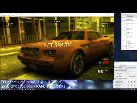 Xenia Xbox 360 Emulator - Burnout Revenge Ingame / Gameplay