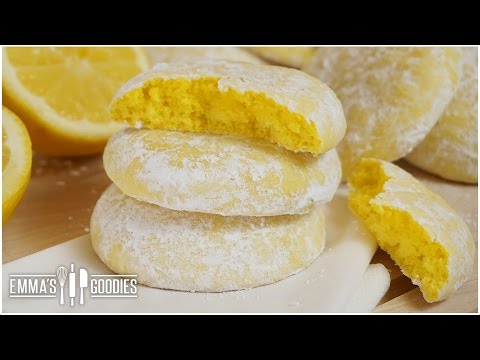 Soft Lemon Cookie Recipe ( Melt in your mouth Cookies )
