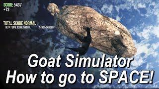 Goat Simulator - How to go to Space - Rymdskepp i Rymden Achievement/Trophy