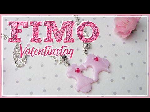 FIMO PUZZLE Freundschaftskette ♡ VALENTINSTAG | how to