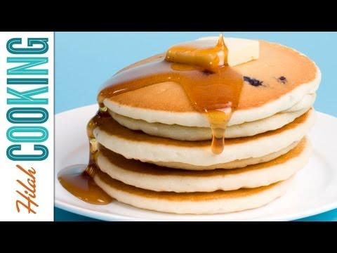 How To Make Pancakes | Buttermilk Pancake Recipe | Hilah Cooking
