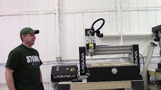 Laguna IQ CNC unboxing and setup
