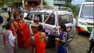 preview picture of video 'Nepali Brahmin Hindu Marriage ● Chitwan to Gorkha by road || Vlog travel diaries'