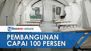 Kondisi Rumah Sakit Darurat di Benteng Vastenburg Solo, Dilengkapi Pendingin Ruangan hingga Shower