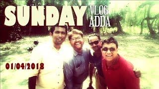 preview picture of video 'Sunday Vlog : Sunday আড্ডা | tridibiker | Chingispur Bangladesh Border Special'