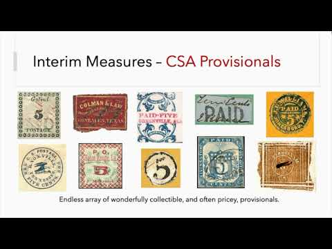 Confederate States of America: Postal Innovation during the Civil War
