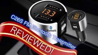 C26S Bluetooth FM Transmitter - Best Car Audio & MP3 Player of 2019