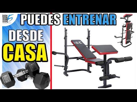 🏋AUMENTA masa muscular EN CASA🏡 ISE Banco de Musculación Multifunciona EJERCICIOS EN CASA💥