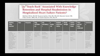 Critical Appraisal of the Nursing Literature
