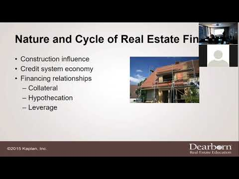 Real Estate Finance - Chapter 1 Lecture