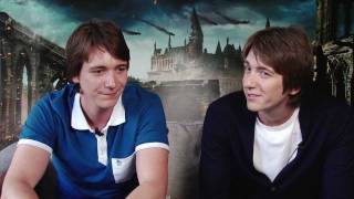 Джеймс и Оливер Фелпс, PlayStation Access TV 11 - Soul Calibur V! Weasley Twins Interview! Special Effect Charity!