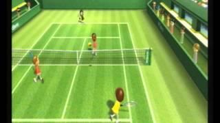 Wii Sports Tennis Skills