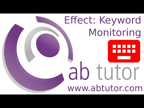 Monitoring for keywords with AB Tutor