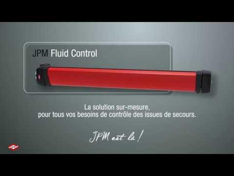 Découvrez Fluid Control, la solution JPM unique et sur-mesure pour contrôler les issues de secours