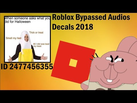 Bypassed Roblox Ids 2019