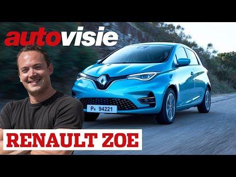 Bijna 400 km range | Renault Zoe (2019) | Test | Autovisie TV