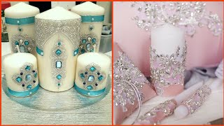 Very Beautiful Fancy Candle Decoration Ideas