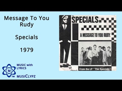 The Specials - A Message To You Rudy </Body></Html> video