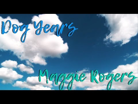Dog Years (Lyric Video) - Maggie Rogers
