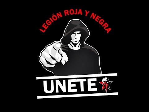 """Legión Roja y Negra CD WALTER FERRETTI"" Barra: Legión Roja y Negra • Club: Walter Ferretti"