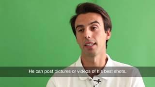 Arthur de Rivoire invente le réseau social pour golfeurs Video Preview Image