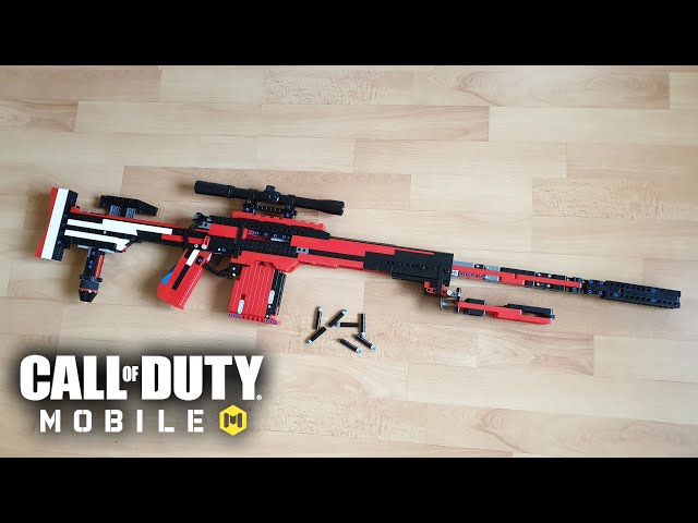 LEGO Working DL Q33 Sniper Rifle - Call of Duty Mobile