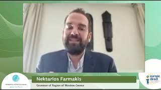 Ο Νεκτάριος Φαρμάκης στο διαδικτυακό workshop για το μέλλον των Σιδηροδρόμων