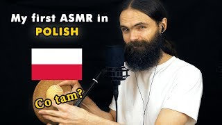 My first ASMR video in Polish (Szepty, asmr po Polsku, a few triggers)