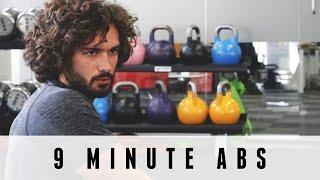 9分鐘腹肌鍛煉|身體教練 出處 The Body Coach TV