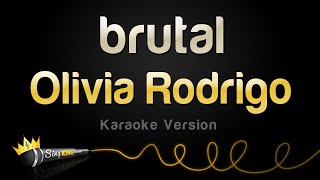 Olivia Rodrigo - brutal (Karaoke Version)