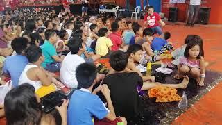 Antoinette Taus Singing One Day In Tondo Manila (Cora Cares)