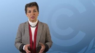 Christiana Figueres wins the Joan Bavaria Award