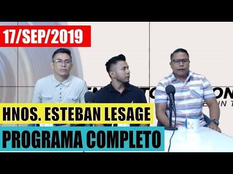 Hermanos Esteban Lesage en Café con Voz (cafe con voz nicaragua)