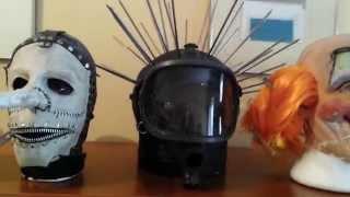 My Slipknot Mask Collectiom