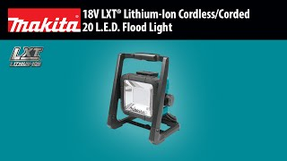 MAKITA 18V LXT® Cordless/Corded L.E.D. Flood Light - Thumbnail