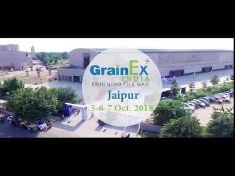7th Edition of GrainEx india Exhibition 2018 in JAIPUR - RAJASTHAN