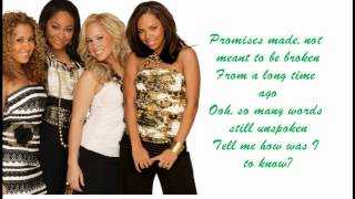 The Cheetah Girls - Its Over Lyrics