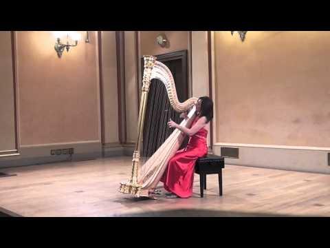 Jana BOUŠKOVÁ plays : F.A. RÖSSLER - ROSETTI : SONATA in E flat Major for harp