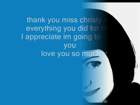 Ms. Christy.wmv