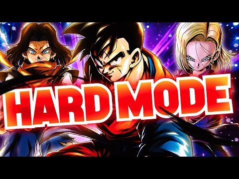 CLOSEST MATCH EVER! LEVEL 3,500 HARD MODE ANDROIDS! Dragon Ball Legends | DB